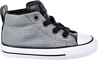 66da0ea5ecf1 Converse Chuck Taylor All Star Street Mid Toddler s Shoes Grey Black White  760071f