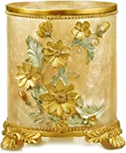 AINIYF Decorative Trash Can Wastebasket, Garbage Container Bin for Bathrooms, Powder Rooms, Kitchens, Home Offices - Resin...