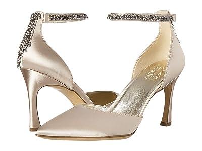 Naturalizer Alyssa (Champagne Satin Fabric) High Heels