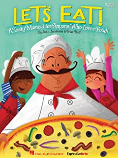 Hal Leonard Let's Eat! (A Tasty Musical for Anyone Who Loves Food!) Performance/Accompaniment CD by John Jacobson