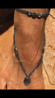 Abalone boho anklet matching sexy beach foot jewelry