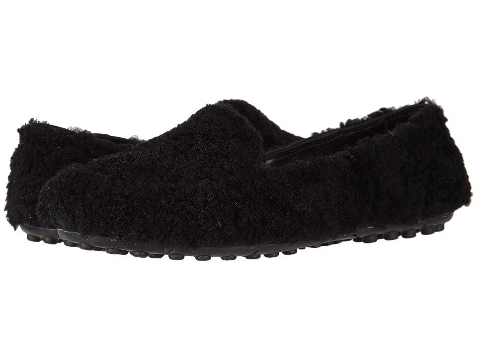 UGG Hailey Fluff Loafer (Black) Women