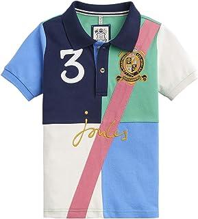 Joules Woody Garçons T-Shirt Polo Shirt-Bleu Marine Toutes Les Tailles