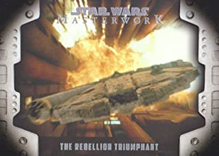 2017 Topps Star Wars Masterwork Evolution of the Rebel Alliance Insert Card #LP-8