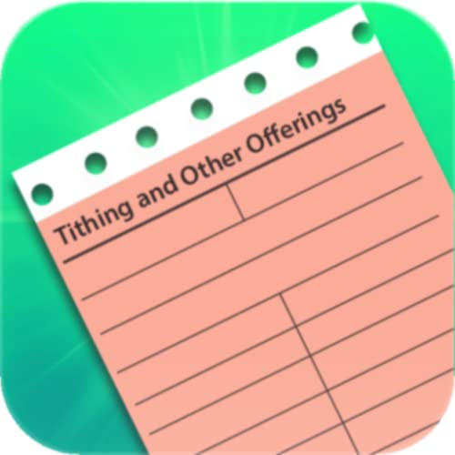 Special iFull iTithe i- Mormon Tithing Tracker