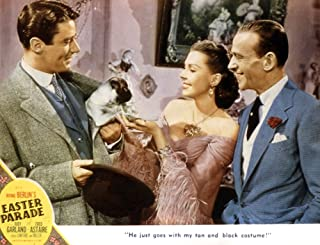 Posterazzi Easter Parade Peter Lawford Ann Miller Fred Astaire 1948 Movie Masterprint Poster Print (14 x 11)