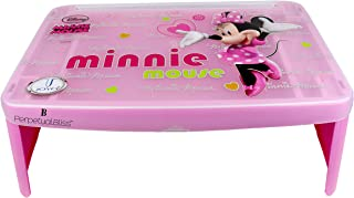 Perpetual Bliss Minnie Mouse Bed Table for Kids/Laptop Portable/Study/Lamp/Multipurpose(Dimension) 50x30x20cm