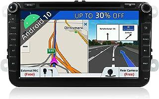 JOYX Android 10 Autoradio Passt für VW Passat/Golf/Skoda/Seat   GPS 2 Din   Rückfahrkamera Canbus KOSTENLOS   2G+32G   8 Zoll   Unterstützen DAB+ Lenkradsteuerung 4G WiFi Bluetooth Mirrorlink Carplay