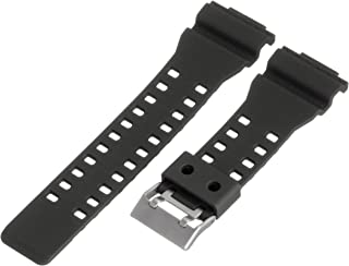Hadley-Roma MS3220RA 160 16mm Polyurethane Black Watch Strap