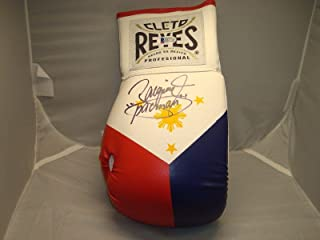 Manny Pacquiao Signed Cleto Reyes Boxing Glove Beckett BAS COA Autographed 1A - Beckett Authentication
