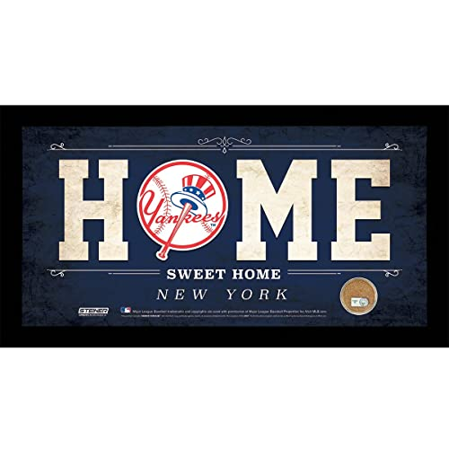 Steiner Sports MLB 6x12 Home Sweet Home Sign with Game-Used Dirt