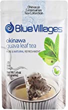 Blue Villages Guava Leaf Tea - 100% Pure Leaf, Natural,Organic and Caffeine-Free, 20 Tea Bags (2g Each) from Okinawa Japan