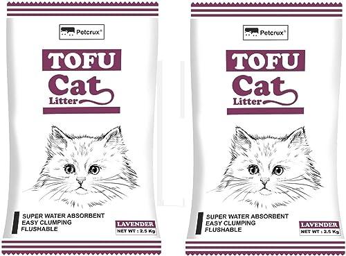 Tofu Cat Litter Natural Cat Litter Flushable Cat Litter Clumping Plant Cat Litter Ultra Odor Control Cat Litter Dust ...