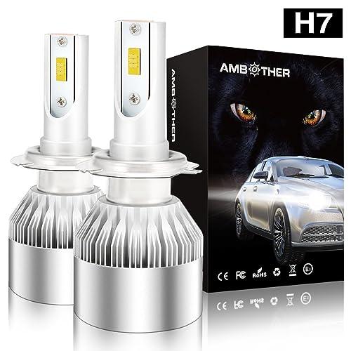 Led H7 Headlight Bulbs Amazon Co Uk
