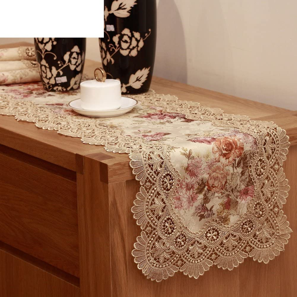 WXTFQB Fashion table runner trend rank and tab garden flag cloth embroidery Cheap sale