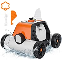 Deals on Robotic Pool Cleaner Cordless Automatic Pool Cleaner
