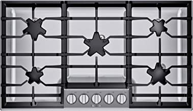Thermador SGSP365TS Masterpiece 36 Inch Wide 5 Burner Gas Cooktop with Pedestal Star Burners