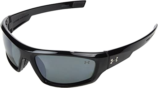 Shiny Black/Gray Polarized Multiflection