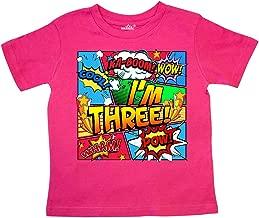 inktastic - I'm Three Comic Book Toddler T-Shirt 29f37