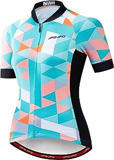 JPOJPO Women's Cycling Jersey Bike Shirt Tops