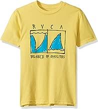RVCA Boys' Big Finner Short Sleeve Crew Neck T-Shirt