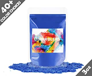 Marblers Powder Colorant 3oz (85g) [Gentle Blue] | Pearlescent Pigment | Tint | Pure Mica Powder for Resin | Dye | Non-Toxic | Great for Paint, Concrete, Epoxy, Soap, Nail Polish, Cosmetics