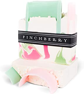 Finchberry Handmade Natural Soap Bar, Moisturizing Shea Butter & Coconut Oil, Organic and Sustainable Ingredients, Sweetly Southern, 4.5 oz