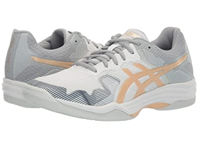 ASICS GEL-Tactic(r) (White/Champagne) Women