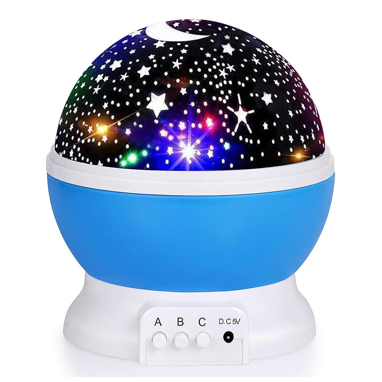 Kids Star Night Cheap Ranking TOP6 mail order sales Light Rotating 360-Degree Projector Desk