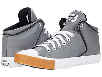 Converse Chuck Taylor All Star High Street Synthetic Leather Hi (Mason/White/Gum Honey) Athletic Shoes