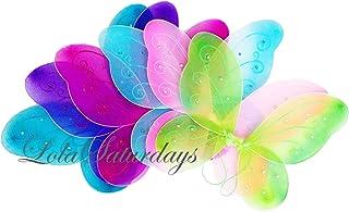 [ローラサタデイ]LolaSaturdays 5 Pack Assorted Fairy Wings LYSB013TJWBGY-TOYS [並行輸入品]