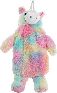 Universal Textiles Childrens/Kids Plush Unicorn Hot Water Bottle Cover