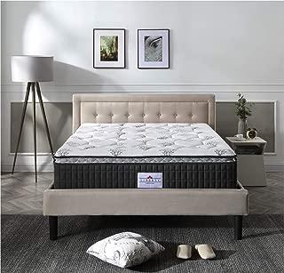 Liberty Mattress Serene 13-Inch Pillow-Top Innerspring Hybrid Mattress, King