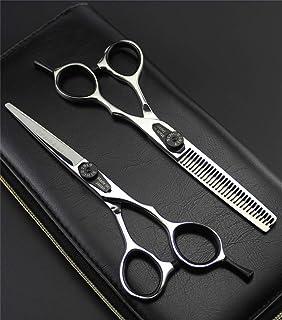 Professional Hair snijden schaar 5,5 inch 440C Stainless Steel Set, anti-slip handvat hulpmiddelen van de kapper voor Salo...
