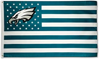 WHGJ Philadelphia Eagles Large NFL 3x5 FT Flag Stars and Stripes Sports Banner