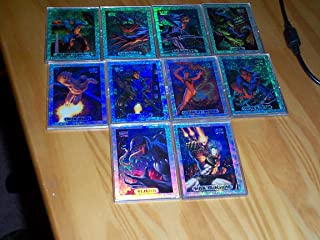 Marvel Masterpieces Silver holofoil Trading cards limited edition 1994 set Captain America, Spider-man, Hulk, Iron Man and more