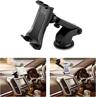 Universal Smartphone Car Mount Holder Cradle for iPhone Xs XS Max X 8 8 Plus 7 7 Plus SE 6s 6 Plus 6 5s 5 4s 4 Samsung Galaxy S9 S8 Edge S7 S6 Note 9 & Other Smartphone