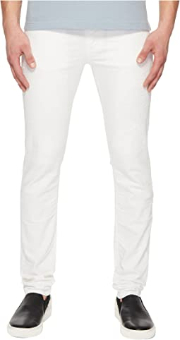 Versace Jeans - Distressed Jeans in White