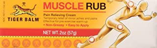 muscle rub by Tiger Balm