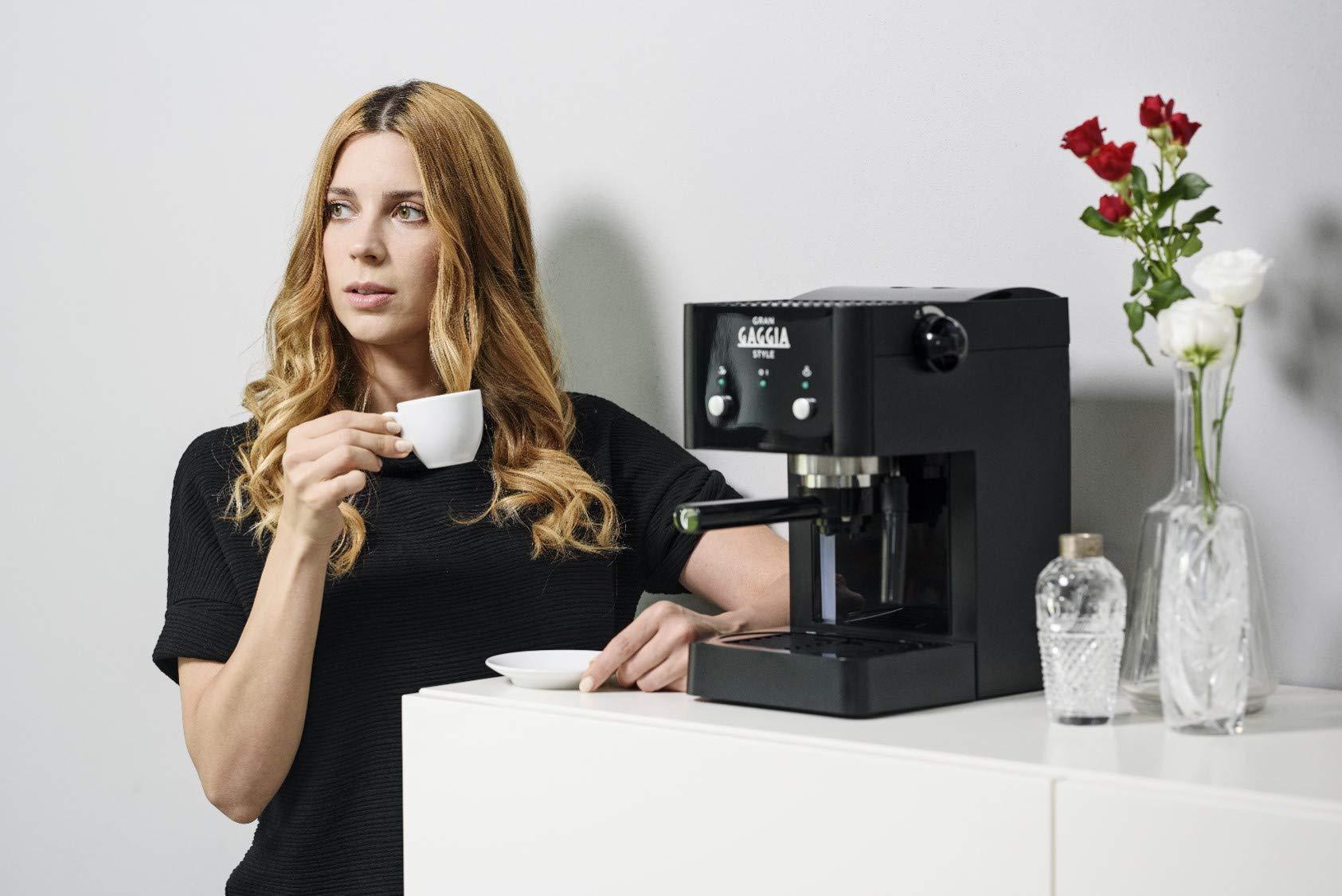 GAGGIA Macchina Da Caffè Espresso ri8323//01 Nero