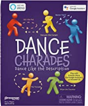 Pressman Dance Charades Game: Can Be Played with Included CD, Alexa Skills or Google Assistant
