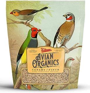 Volkman Avian Organics USDA Certified Organic and Non GMO Bird Food Seeds African Grey Macaw Cockatoo Cockatiel Lovebird A...