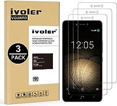 iVoler [3 Unidades] Protector de Pantalla para BQ Aquaris U Plus/BQ Aquaris U/BQ Aquaris U Lite, Cristal Vidrio Templado Premium
