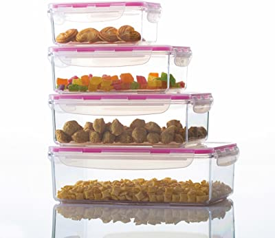 Varmora Clamp it Rectangle Full Set Dry Fruit Box