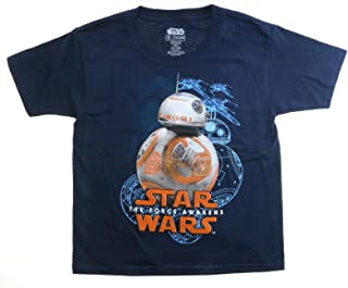 Star Wars The Force Awakens BB-8 Youth Navy Blue T-Shirt