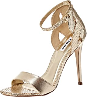 Dune London Margaux Occasion Shoe For Women, Gold, 38 EU