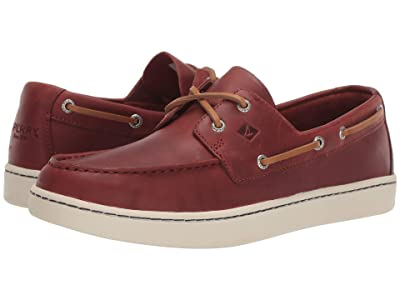 Sperry Sperry Cup 2-Eye (Burgundy) Men