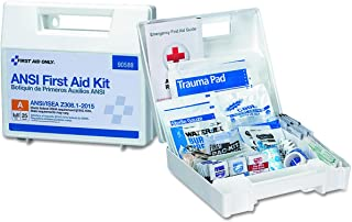 Pac-Kit by First Aid Only 90588 25 Person Bulk ANSI A, First Aid Kit, Plastic