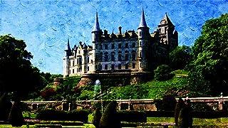 WAZHCY Malen Sie nach Zahlen für Kinder für Erwachsene Dunrobin Castle Famous Historic DIY 40X50CM Ohne Rahmen B07P8HNPQL  Ästhetisches Aussehen