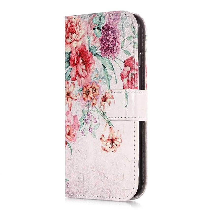 不公平花設計CUSKING iPhone 6 Plus/iPhone 6s Plus 手帳型ケース iPhone 6 Plus/iPhone 6s Plus 手帳型 カバー 札入れフ カードポケット スタント機能 横開き 磁気バックル ケース - 柄4
